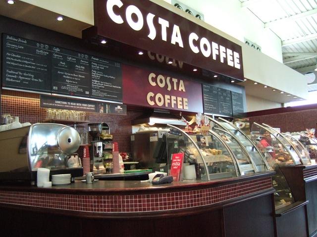 сеть кофеен Costa Coffee